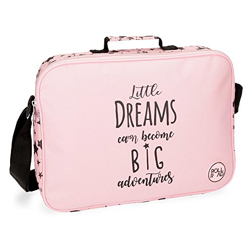 Roll Road Dreams Pink Mochila escolar, 38 cm, 6.38 litros, Rosa