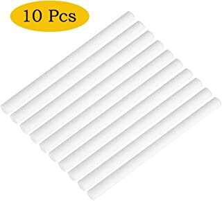 Briskyloom Humidifier Sticks Cotton Filter Sticks Refill Sticks Filter Replacement Wicks for Portable Personal USB Powered Humidifier 7135mm (10pcs)