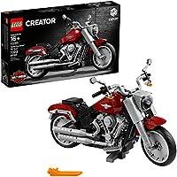 LEGO Creator Expert Harley-Davidson Fat Boy 10269 Building Kit (1023 Pieces)