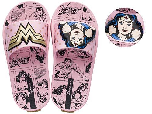 Ipanema Justice League Wonder Woman 3D Chicas Chanclas/sandalias-Pink-28/29