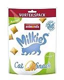animonda Milkies, croccanti fagottini senza cereali per gatti, snack per gatti, Balance, 6 x 120 g