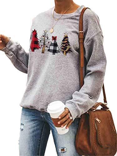 omen Long Sleeve Sweatshirt Autumn Crew Neck Christmas...