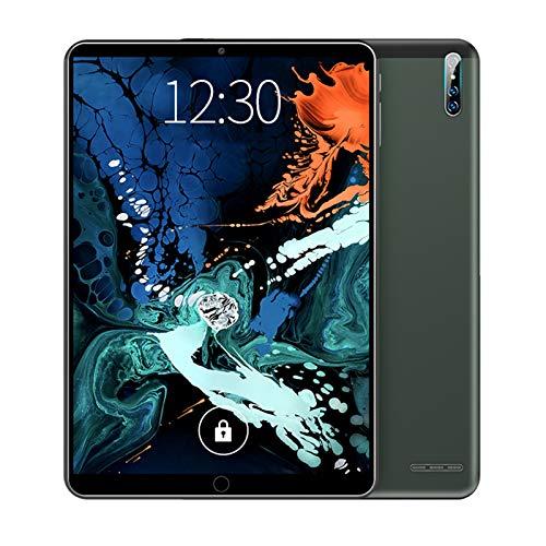 HJGHY Tableta Tabletas de Teléfono Android 9.1 3G de 10 Pulgadas con Tarjeta SIM Dual de Almacenamiento de 16GB, Bluetooth, Compatible con Llamadas Telefónicas 3G Tableta para Niños,Verde