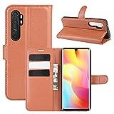 [CNL] Xiaomi Mi Note 10 Lite Phone Coque, Xiaomi Mi Note 10 Lite Coque Housse Flip Cuir PU + Etui...