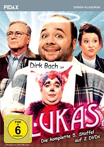 Lukas, Staffel 5 / Die letzten 13 Folgen der Comedyserie mit Dirk Bach (Pidax Serien-Klassiker) [2 DVDs]