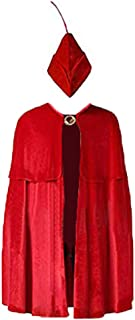 Anime Prince Phillip Cosplay Costume Red Cloak for Halloween Performance Show