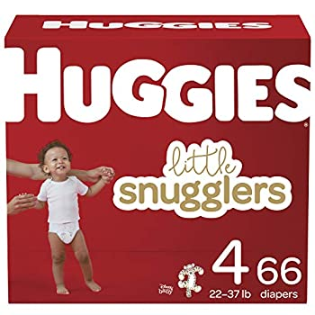Baby Diapers Size 4 66 Ct Huggies Little Snugglers