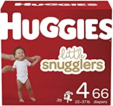 Baby Diapers Size 4, 66 Ct, Huggies Little Snugglers