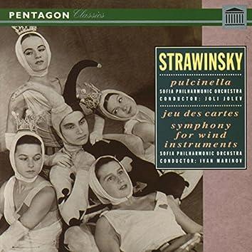 Stravinsky: Pulcinella Suite - Jeu de Cartes - Symphony for Wind Instruments