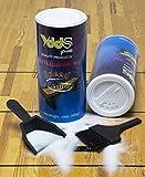 Shuffleboard Sand - Powder Wax w/Mini Dustpan and Broom Set, 2 Cans (Medium Speed)