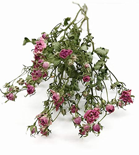 そらプリ hana oil ハーバリウム ドライフラワー 花材 SPローズ リトルウッズ ピンク 約20輪入り