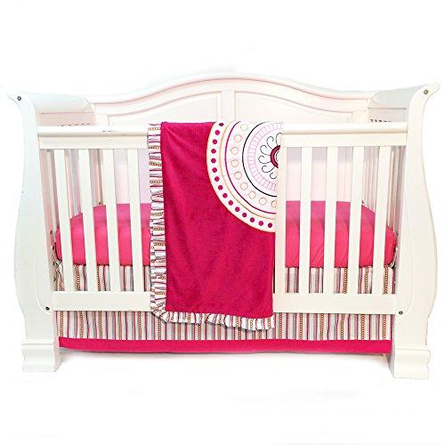 One Grace Place Sophia Lolita Parure de lit pour bébé Blanc/rose/baie/orange