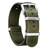 NATO Watch Straps Thick G10 Premium Ballistic Nylon Multicolor Replacement Watch Bands
