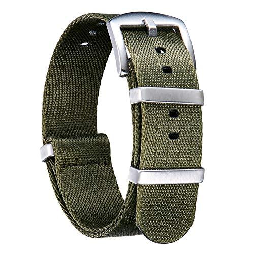 NATO Watch Straps Thick G10 Premium Ballistic Nylon...