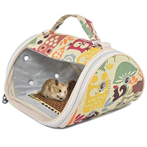 Cific 小動物キャリーバッグ おでかけ オールシーズン シート2枚 (動物園)