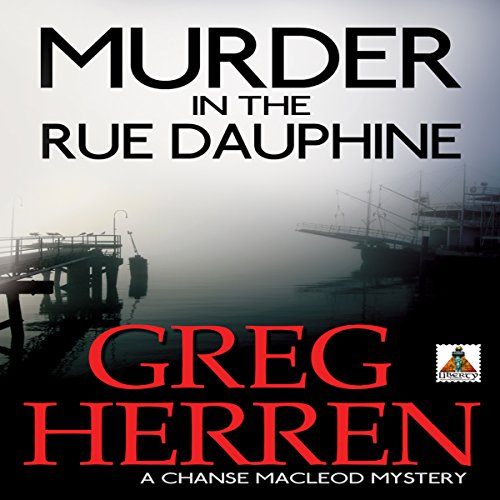 Murder in the Rue Dauphine audiobook cover art