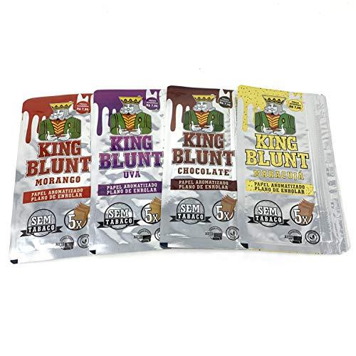 King Blunt Reds - Esclusivo mix di 4 diversi tipi di aromatizzati, un prodotto senza tabacco