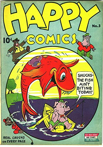 Happy Comics 003 -JVJ (English Edition)