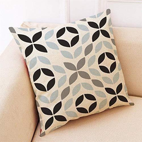 WTMLK 2019 45 * 45 Home Decor Cushion Simple Geometric Throw Pillowcase Pillow D1,F