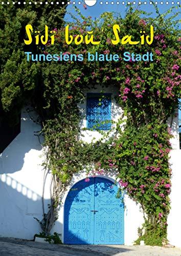 Sidi bou Saïd - Die blaue Stadt Tunesiens (Wandkalender 2021 DIN A3 hoch)