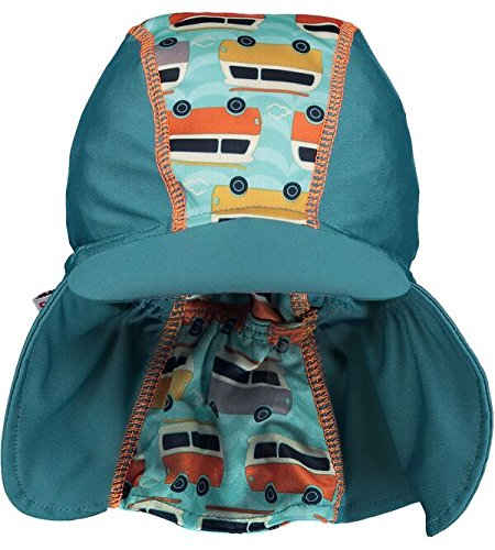 Pop-in Chapeau de Soleil Motif Camping-Car Vert Taille S