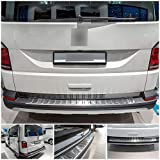 tuning-art L177 Protección Parachoques para VW T6 et T6.1 Multivan 2015- Acero INOX, 5 años de garantía