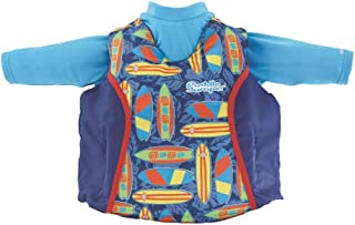 Puddle Jumper Kids 2-in-1 Life Vest and UPF 50+ Rash Guard for Children 33-55 Pounds,