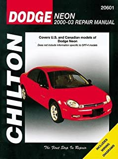 2000 dodge neon repair manual