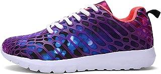 Williess Malla Calzado Deportivo para Hombre, Calzado de Mujer, Casual. (Color : Púrpura, Size : 43)
