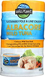 Wild Planet Wild Albacore Tuna Cans, 5 Ounce, 4 Pack