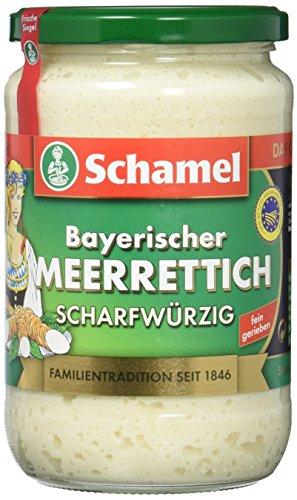 Schamel Meerrettich Scharfwürzig, 6er Pack (6 x 680 g)