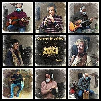 Canción de Quintos 2021
