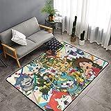 Yokai Watch Game Nathan Adams Jibanyan Alfombra antideslizante resistente a las manchas súper suave alfombra de bienvenida para decoración del hogar clásica para interiores de 60 x 99 cm