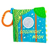 KIDS PREFERRED Goodnight Moon Soft Book with On The Go Clip, 5 Inches