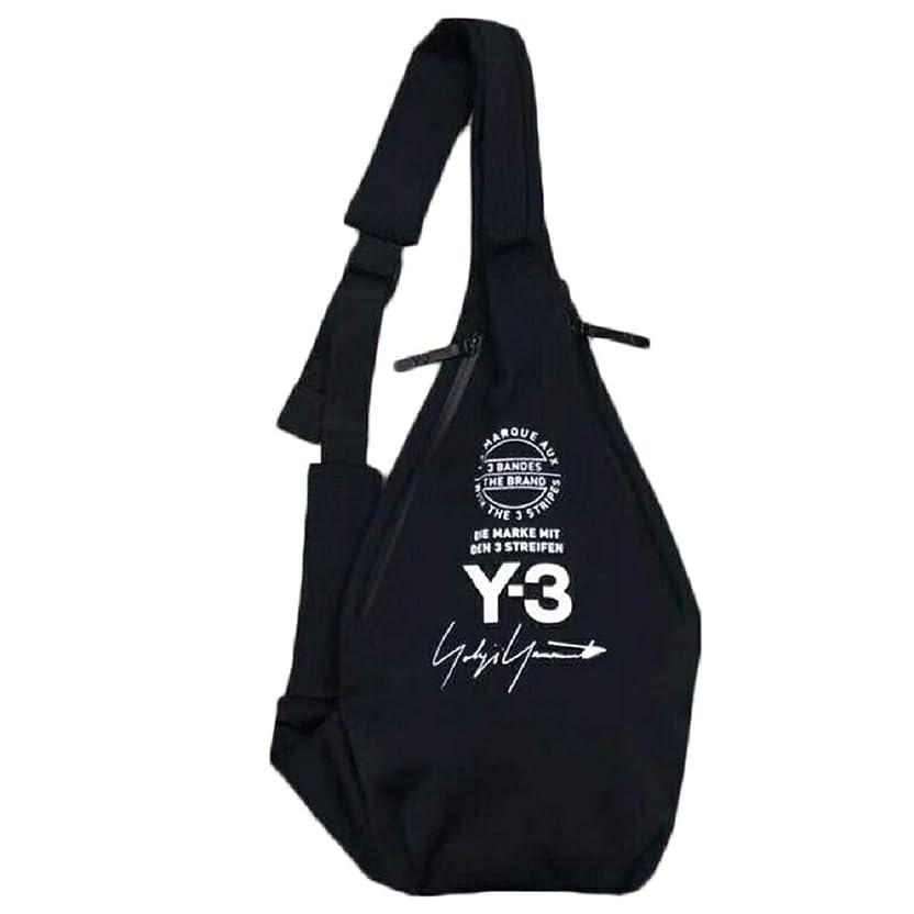 表向き本土称賛Yamamoto ヨウジヤマモト Y-3 ワイスリー ボディバック ショルダーバッグ 斜めがけバッグ ワンショルダー メンズ レディース 多機能 鞄 バッグ Bag