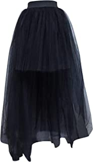 high low skirt sheer