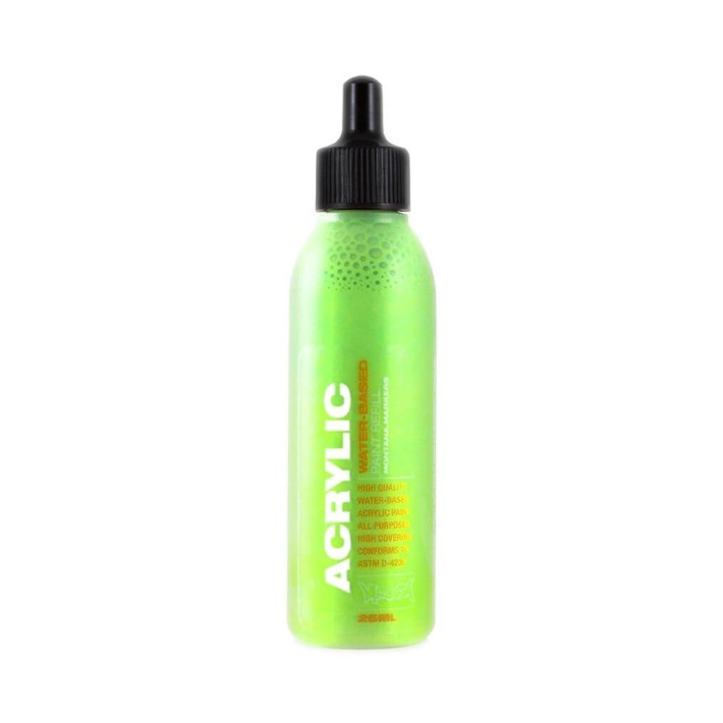 Montana Acrylic Marker Ink Refills, 25ml Bottle, Acid Green (053203)