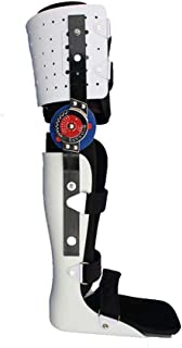 ROMX Knee Ankle Foot Orthosis Brace,Hip Knee Ankle Foot Orthosis Leg Fracture, Lower Limb Paralysis, Hip Walking Fixed with Walking Boots Brace