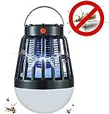 Leilims Mosquito Lampe Tueur 2200mAh Rechargeable Tueur de Moustique Bug Zapper Anti Muggen LED Lure Piège lumière de la Lampe extérieure