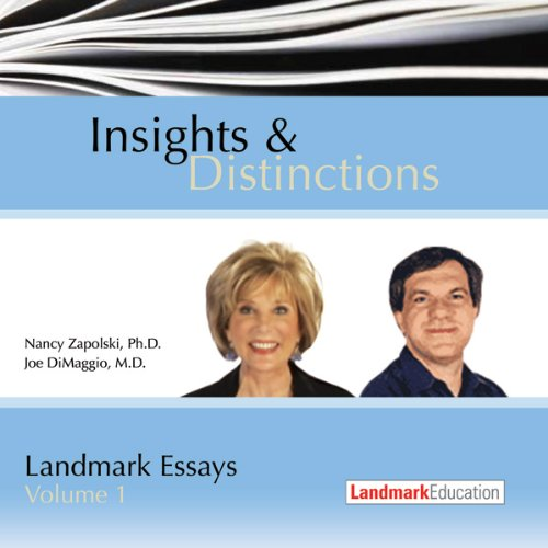 Insights & Distinctions audiobook cover art