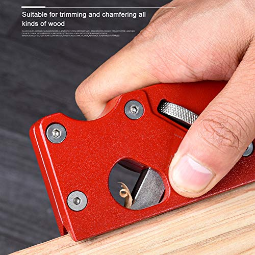 Chamfer Plane for Wood, Woodworking Edge Corner Flattening Tool, Woodwork Hand Planer for Quick Edge Trimming and Chamfering, Woodworking Valentine's Day Gifts for Men, Him