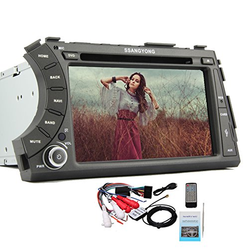 Pupug Vehicle Video Car Stereo for SsangYong Actyon Sports Android 4.2 Car PC DVD Player with GPS WiFi 3D BT