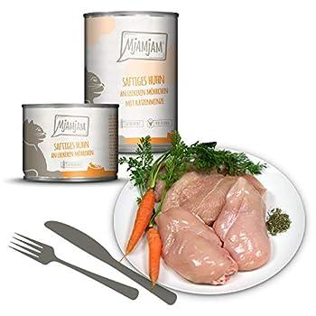 MjAMjAM - Premium nourriture humide pour chats - Monopaket I - au poulet et à la dinde, paquet de 6 (6 x 400 g)