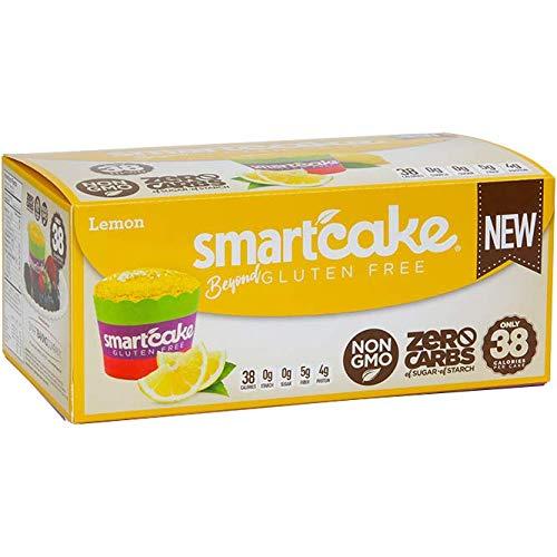 Smart Baking Company Smartcake,Sugar Free, Gluten Free, Low Carb, Keto Dessert (Lemon, 16 CT)