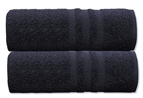 A & B TRADERS 2x Extra Large Jumbo Bath Sheets - Beach Towels 100% Cotton |...