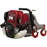 Portable Winch Gas-Powered Capstan Winch Kit - 1,550-Lb. Pulling Capacity, 1.34 HP Honda GX-35 Engine, Model Number PCW3000-HK