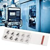 Hoja de carburo Hoja de inserción CNC Aleación de aluminio 10 piezas R6 para hierro fundido para herramienta CNC