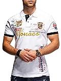 Photo de MT Styles Polo MONACO manches courtes T-Shirt MP-304 [blanc, L]