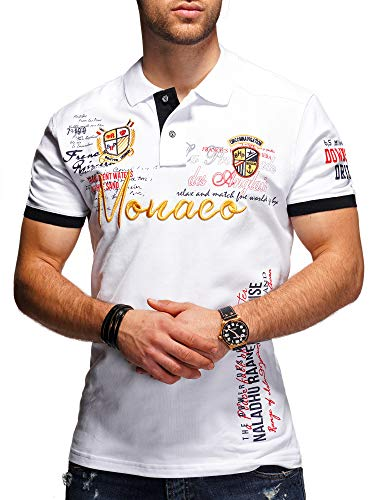 MT Styles Poloshirt Monaco T-Shirt MP-304 [Weiß, XL]