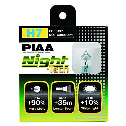 Piaa Bombilla halógena de Alto Rendimiento Night Tech